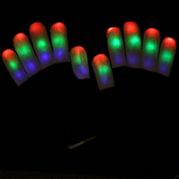 6 Mode LED Rave Gloves