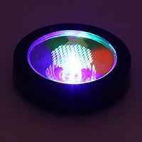 Color Changing LED Base Coaster