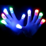 Color Control Mitts LED Gloves (white pair)