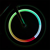 Fireflys Flashing Multicolor Valve Stem Lights