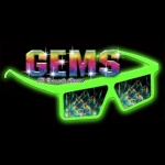 Spectral Gem Holographic Lightshow Viewers