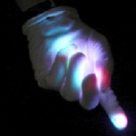 Mystical Mitts Multicolor LED Gloves (pair)