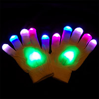 Cotton Candy LED Gloves