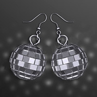 Disco Balls Pierced Earrings