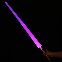 Expandable Multicolor LED Sword