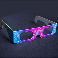 Rainbow Prism Glasses