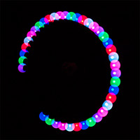 Rainbow Programmable Poi Ball