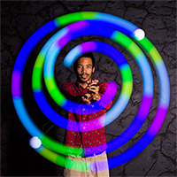 Spin Balls LED Poi Set