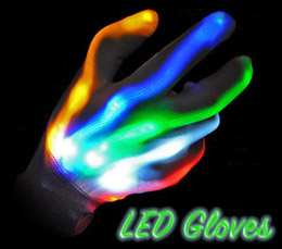 LED Gloves from Dream Rave
